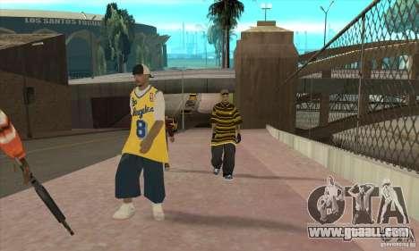 Replace all skins Los Santos Vagos Gang for GTA San Andreas third screenshot