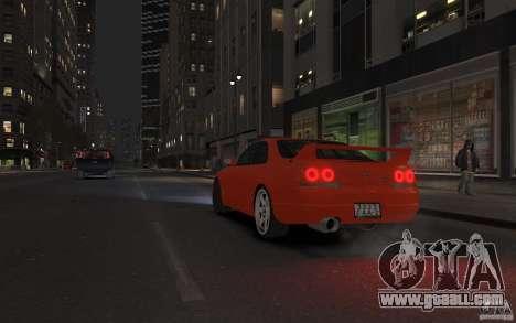 Nissan Skyline for GTA 4 left view