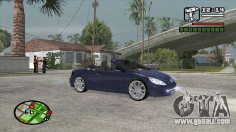 Peugeot 307 BMS Edition for GTA San Andreas left view