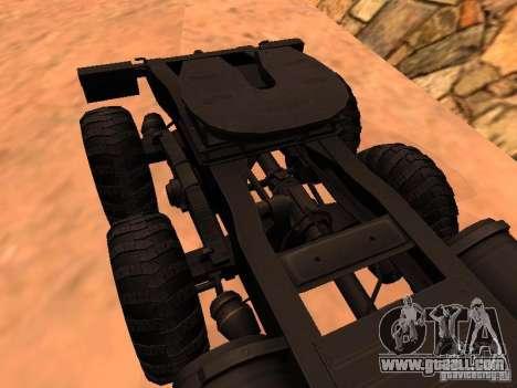 KrAZ 260V for GTA San Andreas inner view