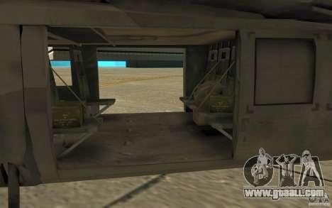 UH-80 for GTA San Andreas back view