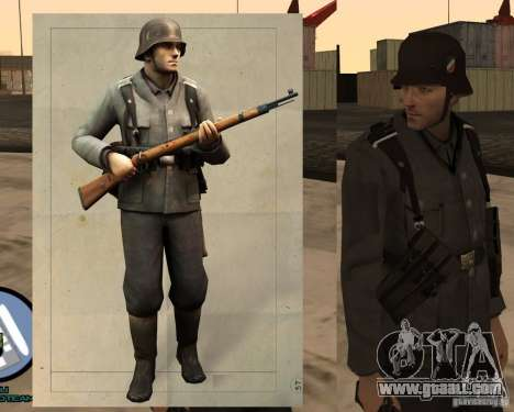 Unteroficer Of The Wehrmacht for GTA San Andreas