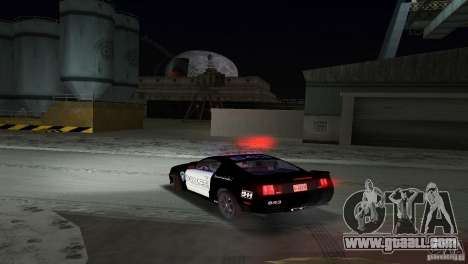 Saleen S281 Barricade 2007 for GTA Vice City inner view