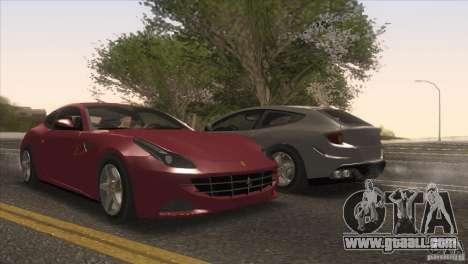 Ferrari FF 2011 V1.0 for GTA San Andreas wheels