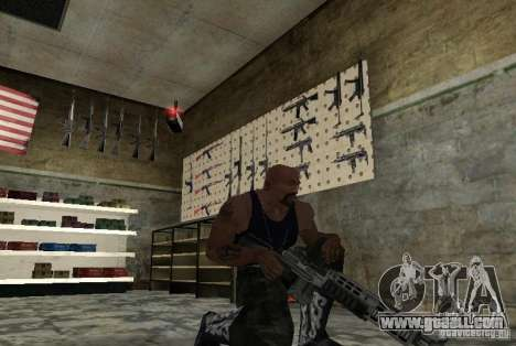 M14 EBR from the Killing Floor for GTA San Andreas second screenshot