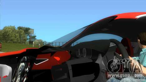 Alfa Romeo 8C Competizione for GTA Vice City right view