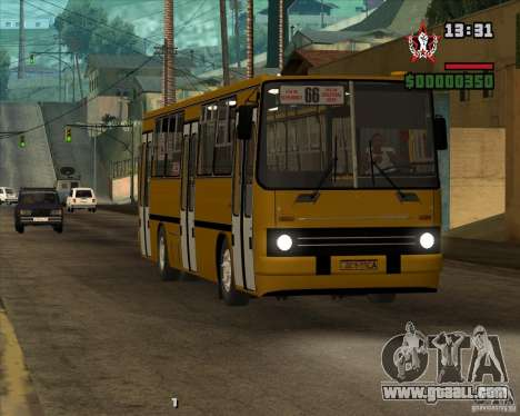 Ikarus 260.04 for GTA San Andreas side view