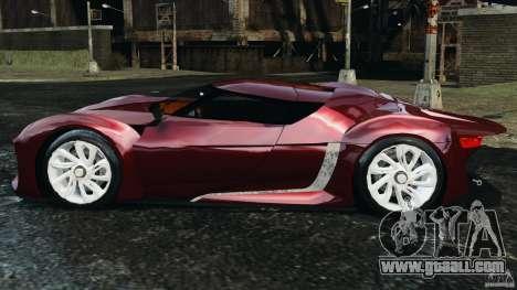 Citroen GT v1.2 for GTA 4 left view
