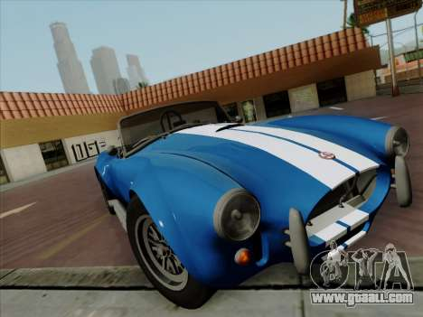 Shelby Cobra 427 for GTA San Andreas