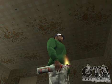 Pak Domestic Weapons V2 for GTA San Andreas sixth screenshot