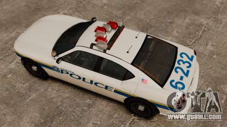 Police Buffalo ELS for GTA 4 right view