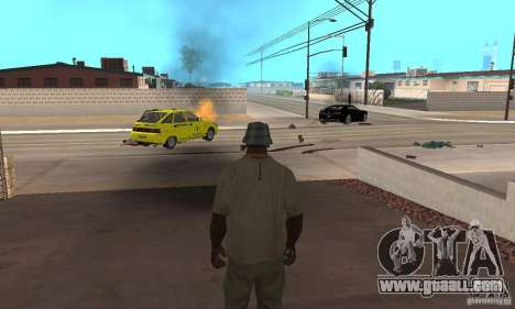 Hot adrenaline effects v1.0 for GTA San Andreas
