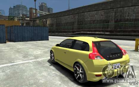 Volvo C30 T5 R-Design 2009 for GTA 4 back left view