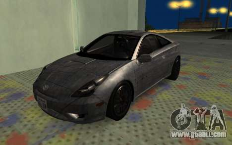 Toyota Celica 2JZ-GTE for GTA San Andreas upper view