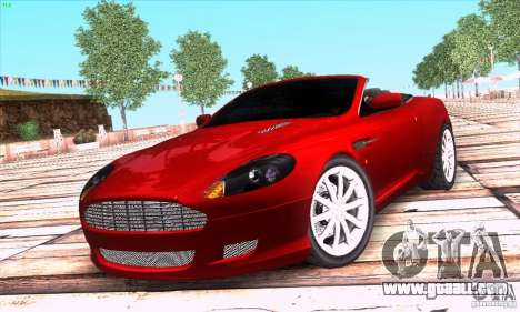 Aston Martin DB9 for GTA San Andreas
