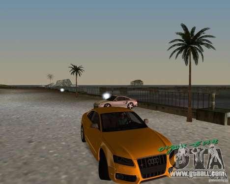Audi S5 for GTA Vice City