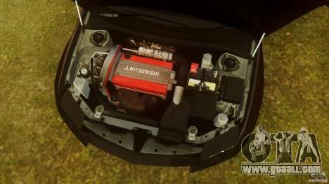 Mitsubishi Lancer Evo 2004 for GTA 4 inner view