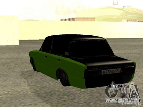 VAZ 2106 HUlK for GTA San Andreas left view
