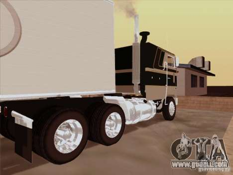 Peterbilt 352 for GTA San Andreas right view