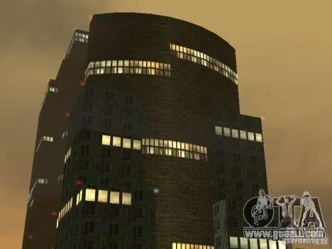 New textures skyscrapers LS for GTA San Andreas third screenshot