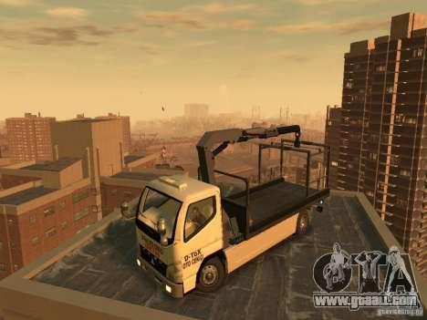 Mitsubishi Fuso Tow Truck for GTA 4