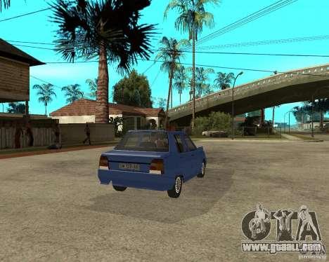 ZAZ 1103 Slavuta for GTA San Andreas back left view