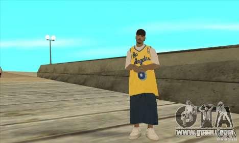 Replace all skins Los Santos Vagos Gang for GTA San Andreas fifth screenshot