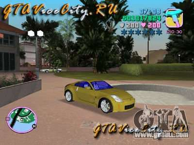 NISSAN Z350 for GTA Vice City