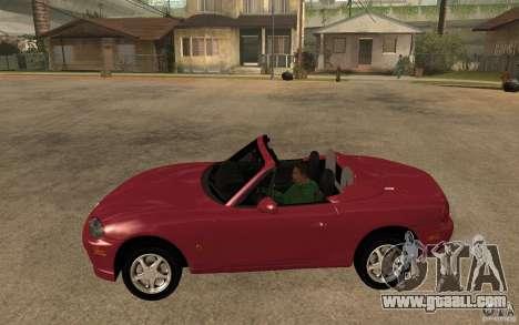 Mazda MX5 - Stock for GTA San Andreas left view