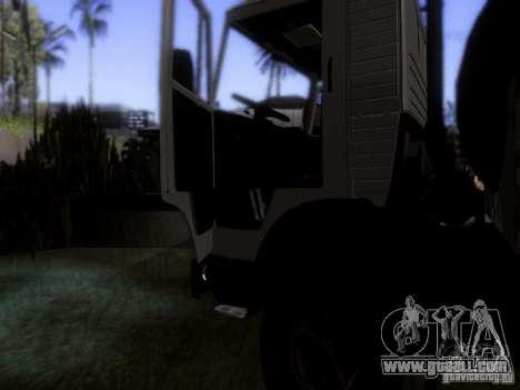 KAMAZ 53212 milk tanker for GTA San Andreas side view