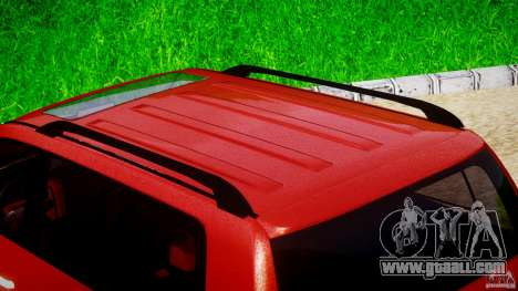 Toyota Land Cruiser 200 2007 for GTA 4 bottom view