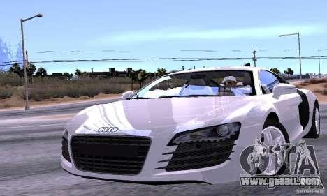 Audi R8 4.2 FSI for GTA San Andreas engine