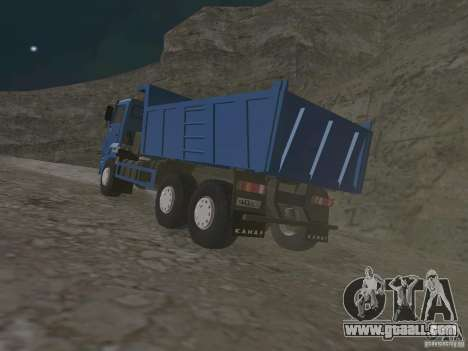 KAMAZ 65222 for GTA San Andreas right view
