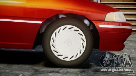 Mercury Tracer 1993 v1.0 for GTA 4 wheels