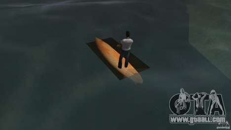 Surfboard 2 for GTA Vice City back left view