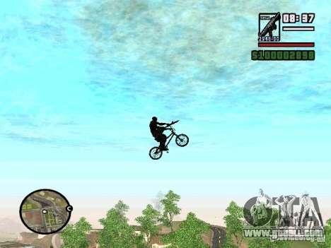 Flying bikes for GTA San Andreas