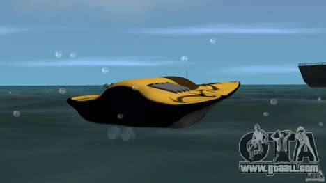 X-87 Offshore Racer for GTA Vice City back left view
