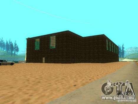 Tricking Gym for GTA San Andreas fifth screenshot