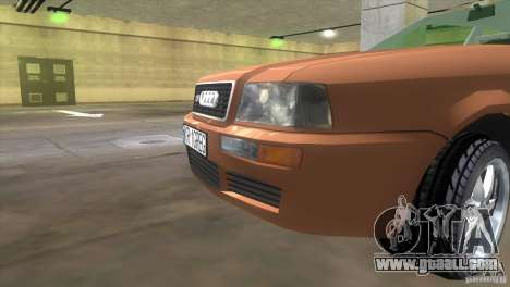 Audi S2 for GTA Vice City back left view