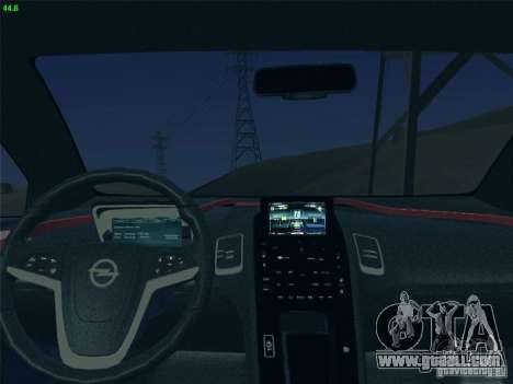 Opel Ampera 2012 for GTA San Andreas back view