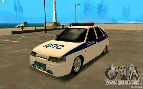 Vaz-2112 Police for GTA San Andreas