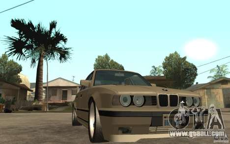 BMW 535i e34 AC Schnitzer for GTA San Andreas back view