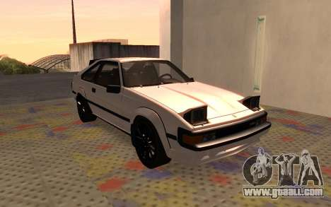 Toyota Celica Supra 2JZ-GTE 1984 for GTA San Andreas left view