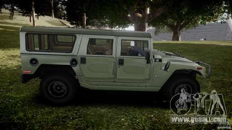Hummer H1 Original for GTA 4 side view
