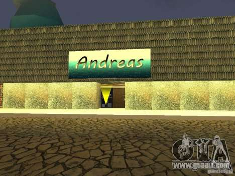 Andreas's Cafe for GTA San Andreas second screenshot