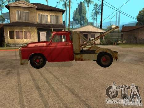Dodge truck is rusty for GTA San Andreas left view