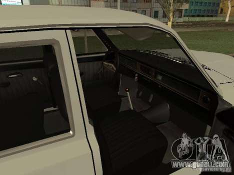 GAZ 24 for GTA San Andreas right view