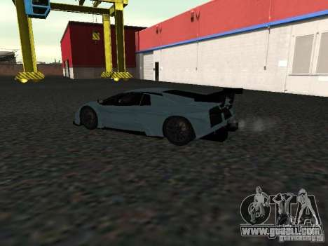 Lamborghini Murcielago R-GT for GTA San Andreas back view