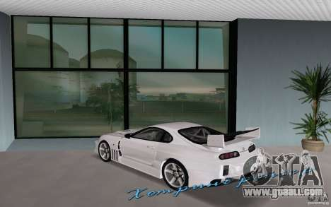 Toyota Supra Chargespeed for GTA Vice City left view