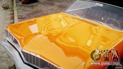 Dodge Dart GT 1975 [Final] for GTA 4 side view